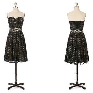 Anthropologie Dresses - anthropologie LITHE champagne cocktail dress 8 (B3